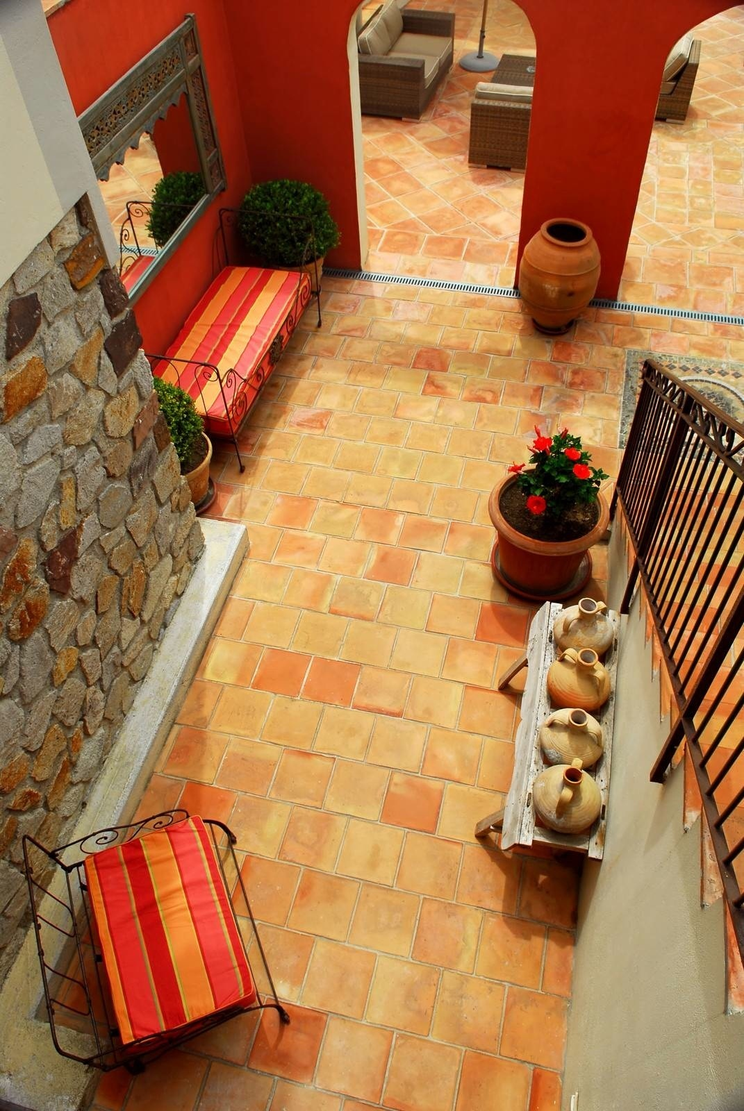 Terra Cotta And Saltillo Flooring And Pavers Products - 4x4 terracotta tile