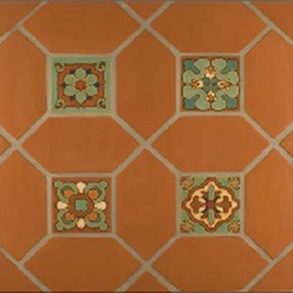California Legacy Hand Painted Tiles