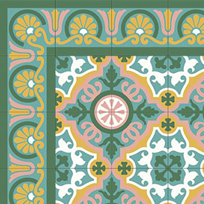 Borders Cement Tiles