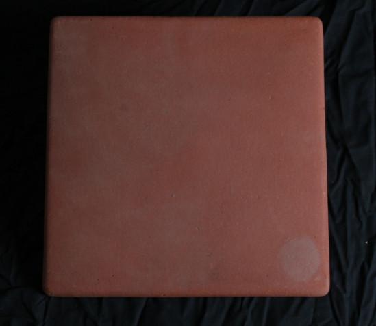 Corona RED Mexicna pavers 12 x 12 Pillow Edge
