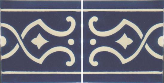 Hacienda Design No 115 (4 1-4 x 4 1-4)