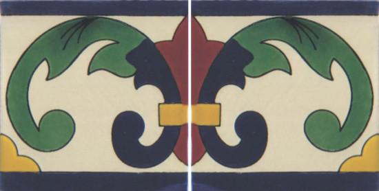 Hacienda Design No 117 (4 1-4 x 41-4)