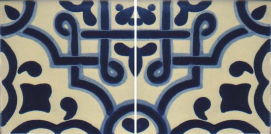 Hacienda Design No 124 (4 1-4 x 41-4)