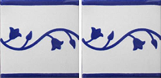 Hacienda Design No 137 (4 1-4 x 41-4)