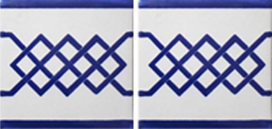 Hacienda Design No 138 (4 1-4 x 41-4)