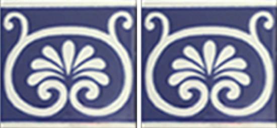 Hacienda Design No 139 (4 1-4 x 41-4)