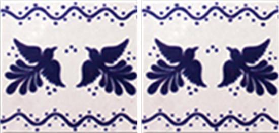 Hacienda Design No 140 (4 1-4 x 41-4)