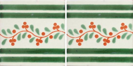 Hacienda Design No 147  (4 1-4 x 41-4)