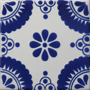 "Pool Tile - Poblano Porcelain Designs Classic 15 (2"")"
