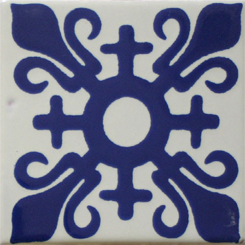 Hacienda Design No. 150  (4 x 4) (6 x 6) (8 x 8) (12 x 12)