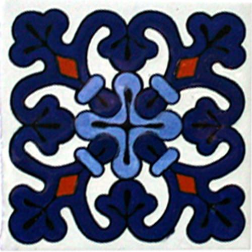 Hacienda Design No. 154  (4 x 4) (6 x 6) (8 x 8) (12 x 12)