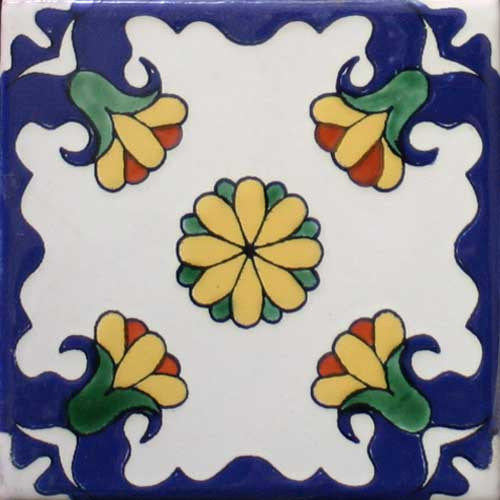 Hacienda Design No. 157  (4 x 4) (6 x 6) (8 x 8) (12 x 12)