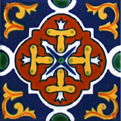 Hacienda Design No. 158  (4 x 4) (6 x 6) (8 x 8) (12 x 12)