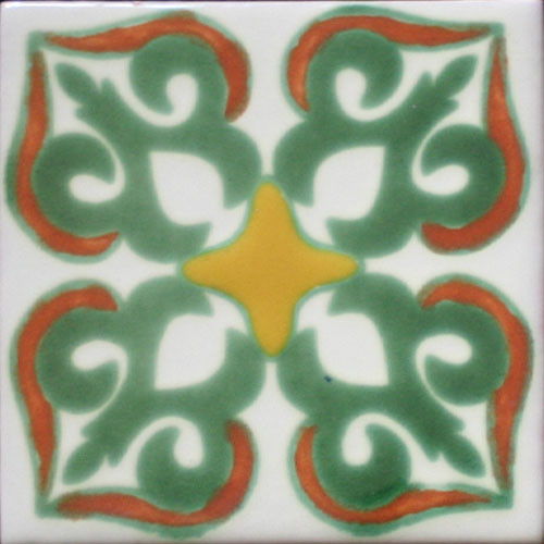 Hacienda Design No. 175 (4 x 4) (6 x 6) (8 x 8) (12 x 12)