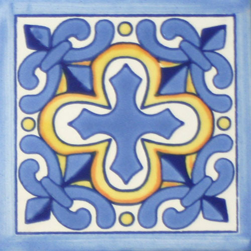 Hacienda Design No. 217 OM  (4 x 4) (6 x 6) (8 x 8) (12 x 12)