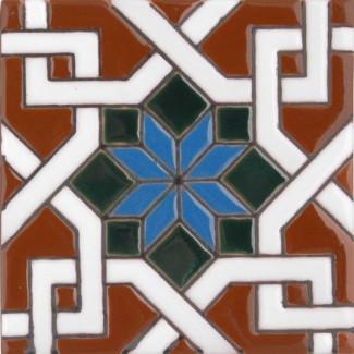 Estrella Arabe No 1 SB (2 x 2) (4 1-4 x 4 1-4) (6 1-8 x 6 1-8)