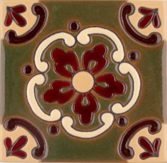Olive Doris Gloss SB (2 x 2) (4 1-4 x 4 1-4) (6 1-8 x 6 1-8)