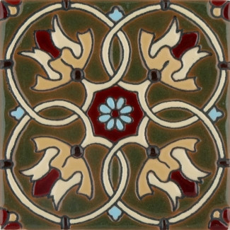 Olive Cambria Gloss SB (2 x 2) (4 1-4 x 4 1-4) (6 1-8 x 6 1-8)