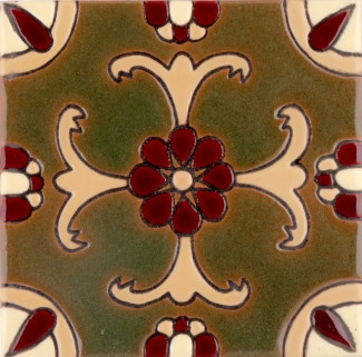Olive Malibu Gloss SB (2 x 2) (4 1-4 x 4 1-4) (6 1-8 x 6 1-8)