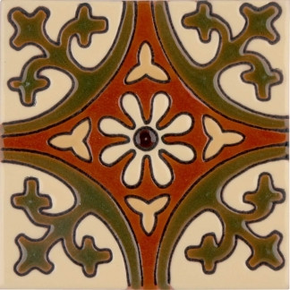 Olive la Quinta Gloss SB (2 x 2) (4 1-4 x 4 1-4) (6 1-8 x 6 1-8)