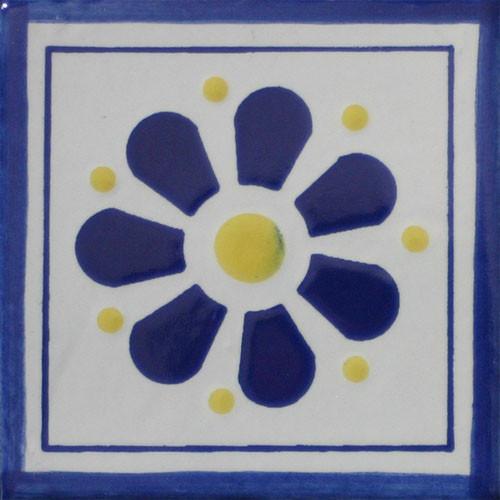 Hacienda Design No. 73 black (4 x 4) (6 x 6) (8 x 8) (12 x 12
