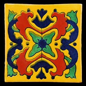Hand Painted Tiles Casa Style Azalea 3212