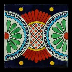 Hand Painted Tiles Casa Babilonia