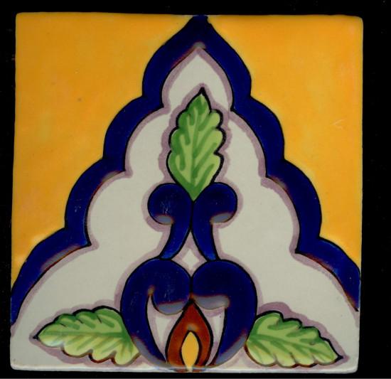 Porcelain Baroque 5, 3 3-4 x 3 3-4