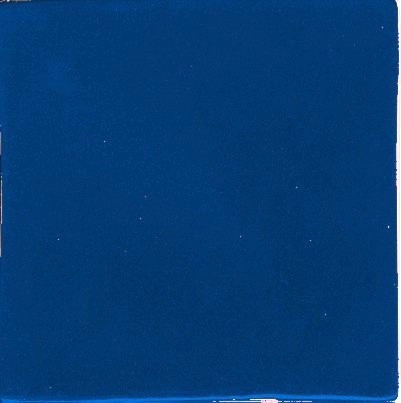 Clay Body Solid Color Blue  (4 x 4)