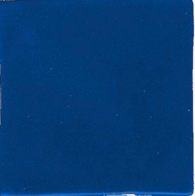Porcelain Solid Color Blue