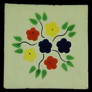 Hand Painted Tiles Casa Bouquet
