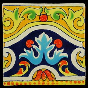 Hand Painted Tiles Casa Cenefa Cordoba