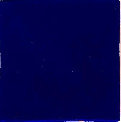 Porcelain Solid Color Cobalt
