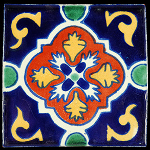 Hand Painted Tiles Casa Dolors Blue 2318