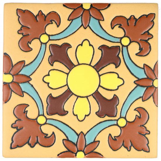 Santa Elena Flower  No X SB (2 x 2) (4 1-4 x 4 1-4) (6 1-8 x 6 1-8)