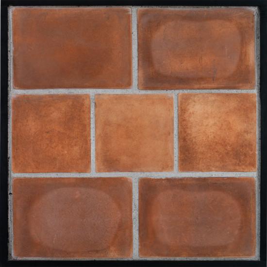 Arto 8x12 8x8 Artillo Classic Concrete Tile - Cotto Dark