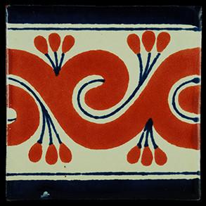 Hand Painted Tiles Casa Gusano Tc