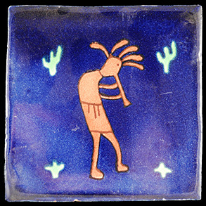 Hand Painted Tiles Casa Kokopelli de Arizona Az