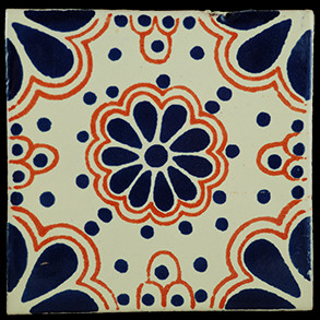 Hand Painted Tiles Casa Lace Az-Tc