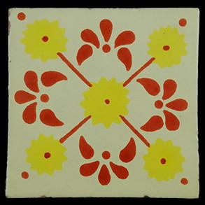 Hand Painted Tiles Casa Margarita Tc-Am