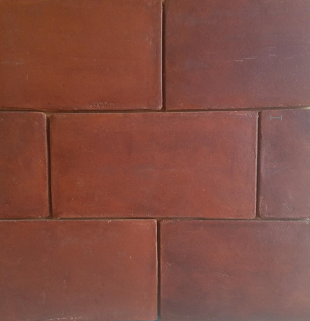 Saltillo Stain Flooring Red