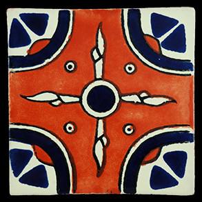 Hand Painted Tiles Casa Navajo