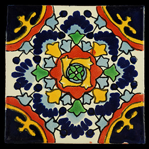 Hand Painted Tiles Casa Nube