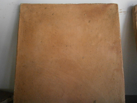 Spanish Paver 12 x 12 waxed