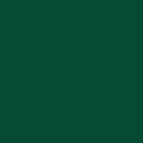 Porcelain Solid Color Green