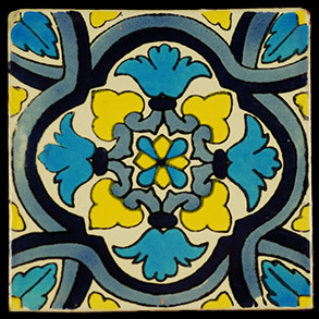 Hand Painted Tiles Casa Ricino