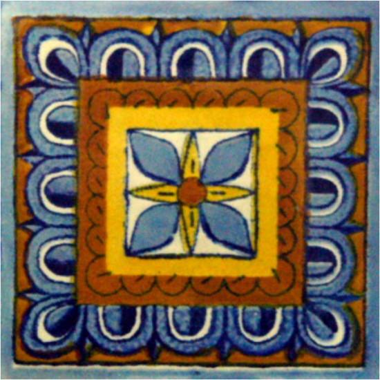 Hand Painted Tiles Casa Rosa De Los Vientos 2314
