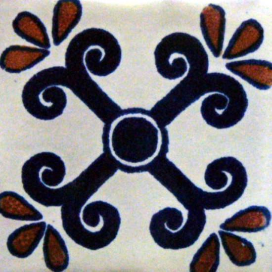 Hand Painted Tile Casa Style San Migule 3205