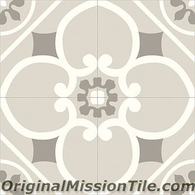 Original Mission Tile Cement Contemporary Cox 03 - 8 x 8