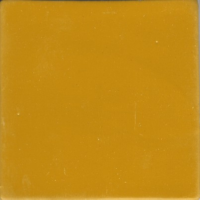 Clay Body Solid Color yellow (4 x 4)